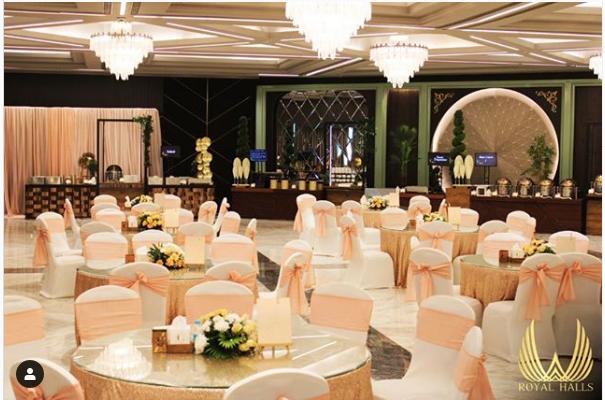 Corporate event halls